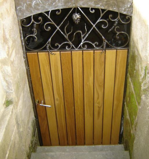 Porte de cave 3 for Porte de cave en fer
