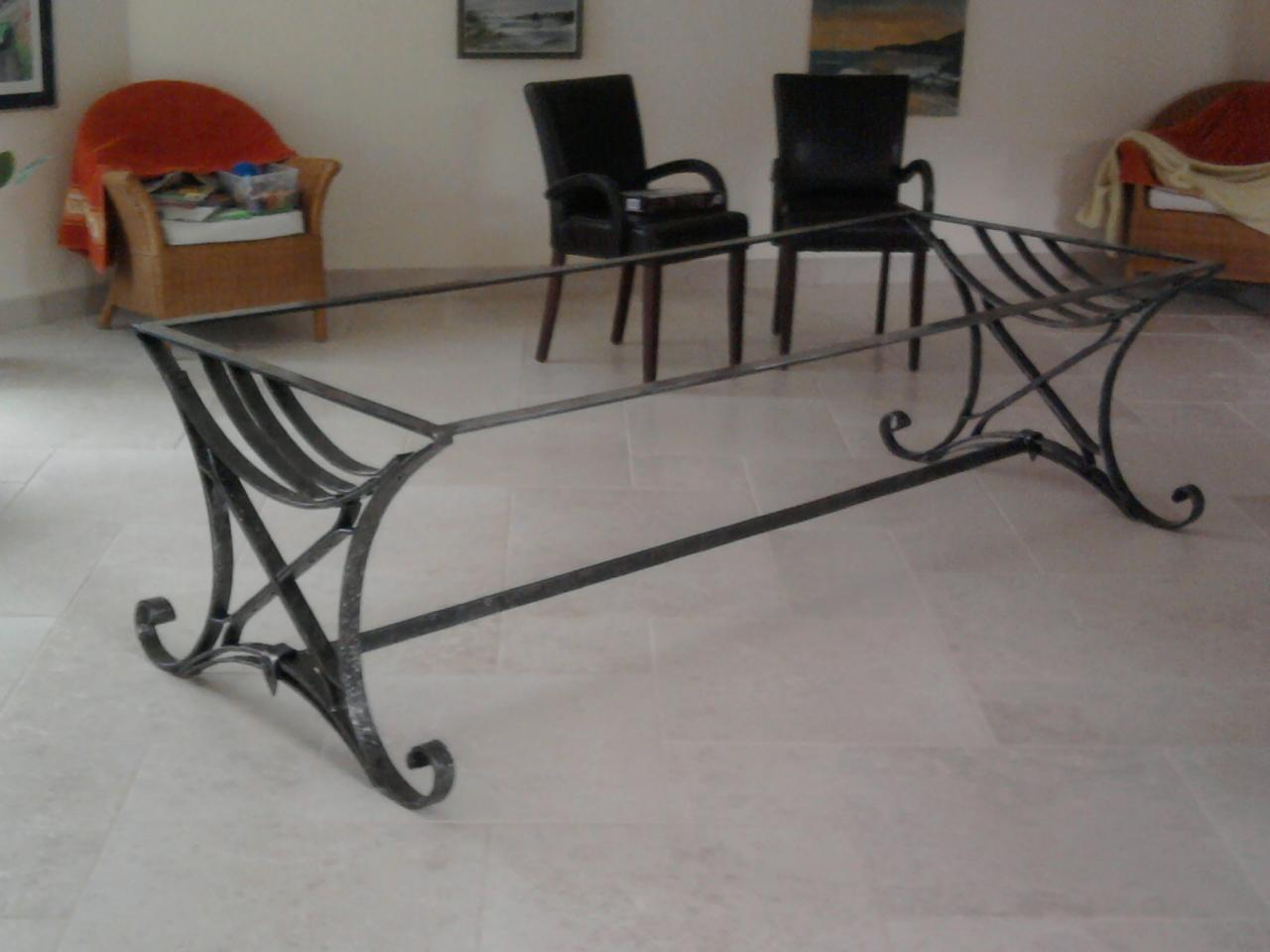 Table fer et bois 2 for Table fer et bois
